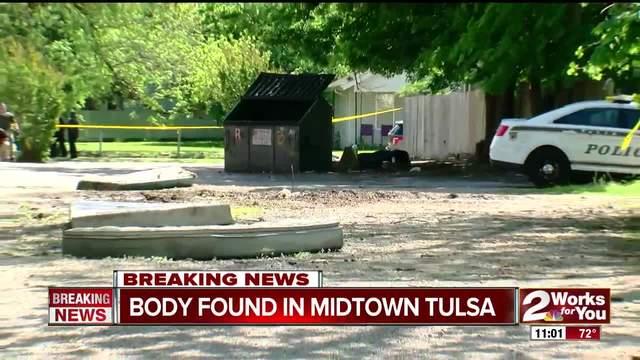 Body found in Midtown Tulsa