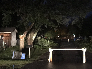 Storms cause damage in Checotah