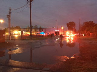 West Tulsa business catches fire