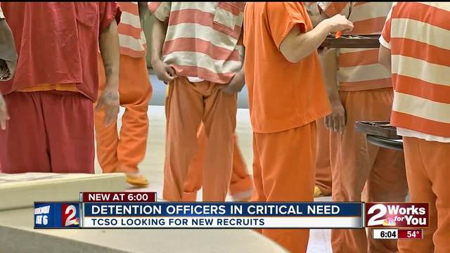Detention officers in critical need