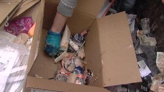 Tulsans go dumpster diving for makeup