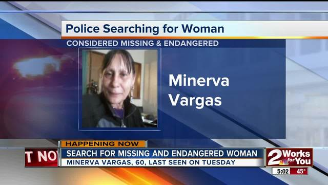 Tulsa Police are searching for a missing endangered woman