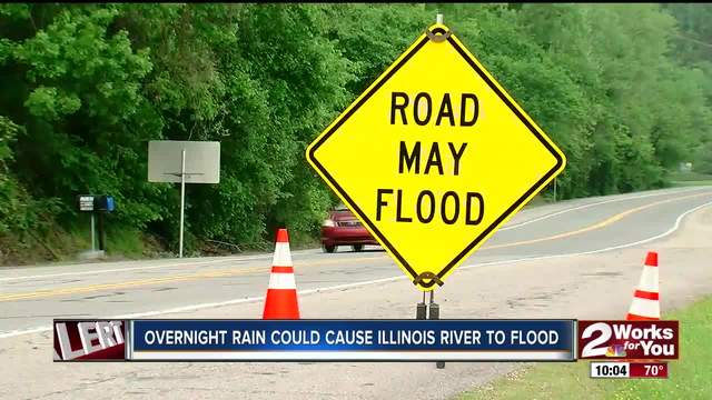 Officials relieved at latest river levels