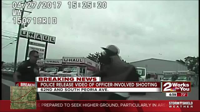 Police release video of officer-involved shooting