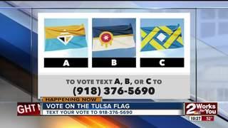 Vote on the new Tulsa flag