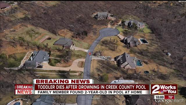 Toddler drowns in Creek Co