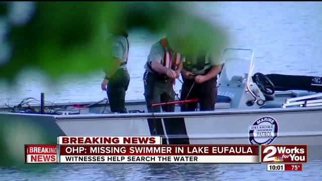 OHP- Swimmer goes missing in Lake Eufaula