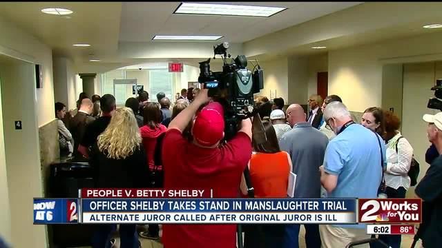 Alternate juror called after original juror takes ill-