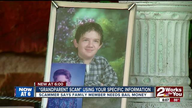 Scammers call family members asking for bail money