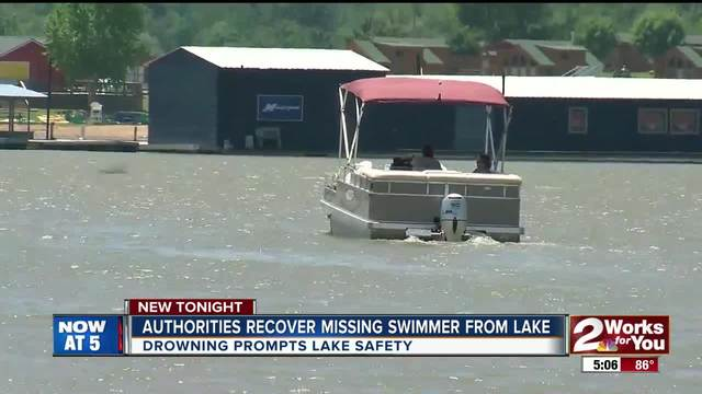 Crews recover missing swimmer-s body from Lake Eufaula