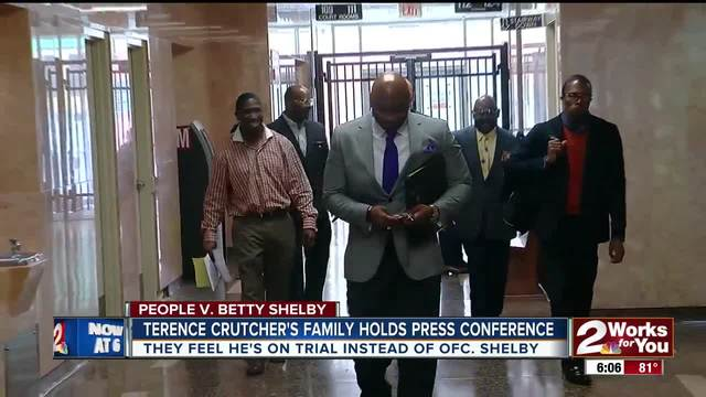 Family feels Crutcher is on trial- not Officer Shelby