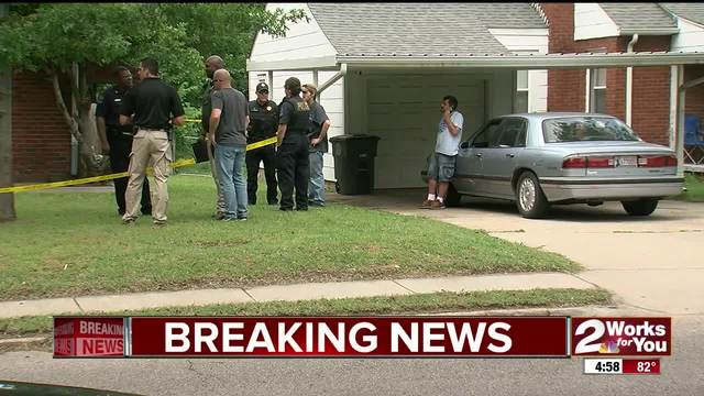 Woman shot in the stomach in North Tulsa
