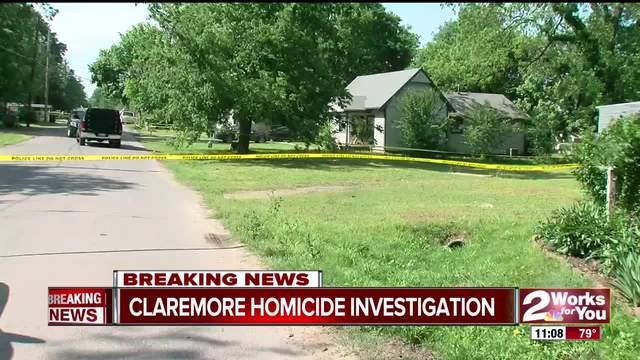 Police investigate homicide in Claremore