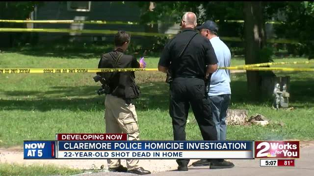 Robbery call leads to murder investigation