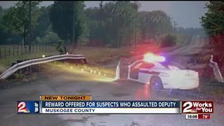 Reward offered after deputy assaulted