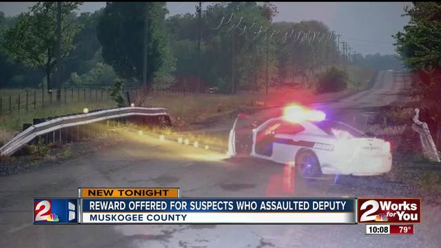 Reward offered for suspects who assaulted deputy