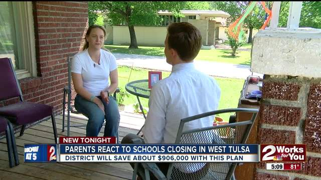 Parents react to plan to close West Tulsa schools