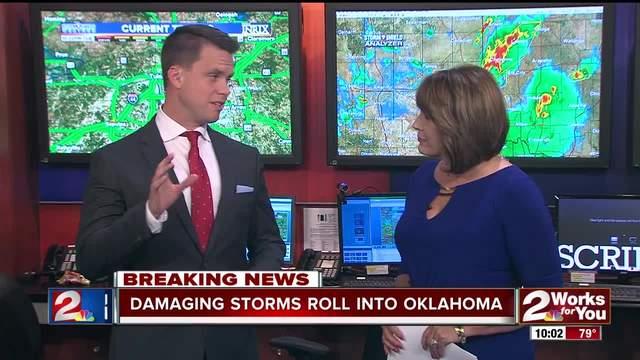 Storms wreak havok in far western Oklahoma