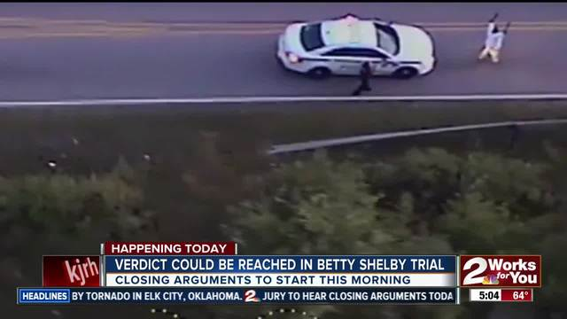 Possible verdict can be reached in Betty Shelby trial