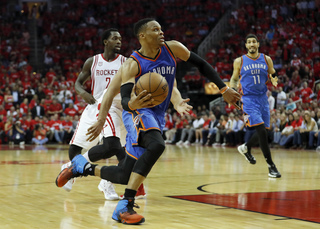 Westbrook signs five-year extension with Thunder