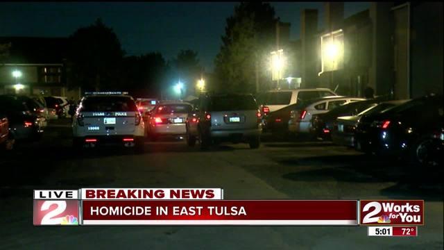Tulsa Police investigate homicide in East Tulsa