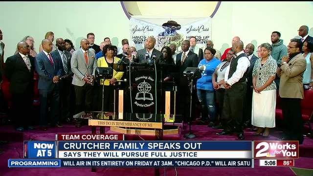Crutcher family speaks out following verdict