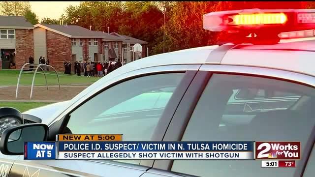 Police Identify suspect- victim in North Tulsa Apartment homicide-