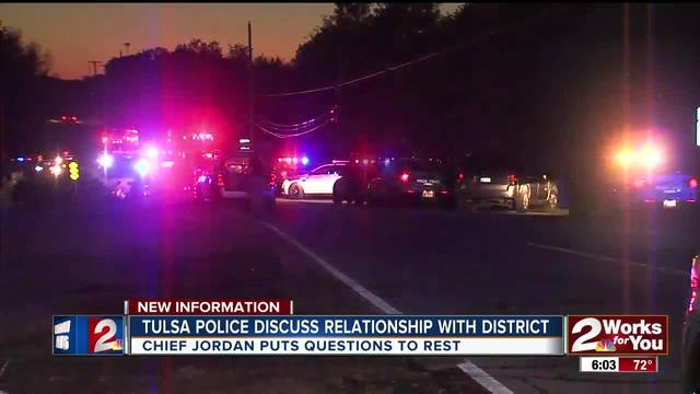 Tulsa Police discuss community relationships