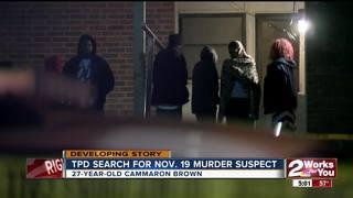 November homicide suspect named, warrant issued
