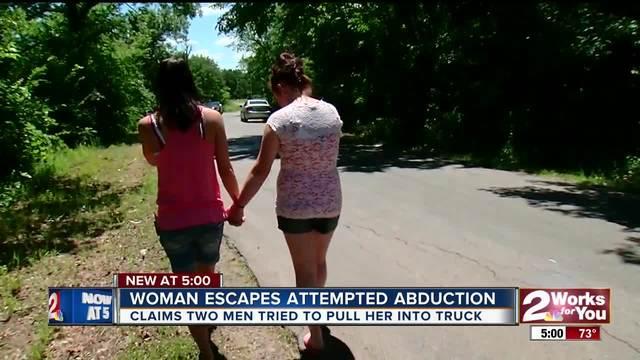 Woman escapes abduction attempt