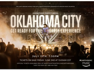 CONTEST: Two Garth Brooks OKC concert tickets