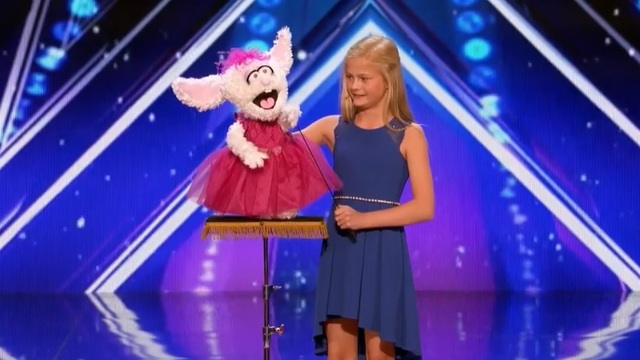 Watch This Girl Ventriloquist Stun Viewers On 'America's Got Talent'