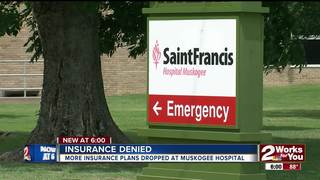 More insurance plans dropped at hospital