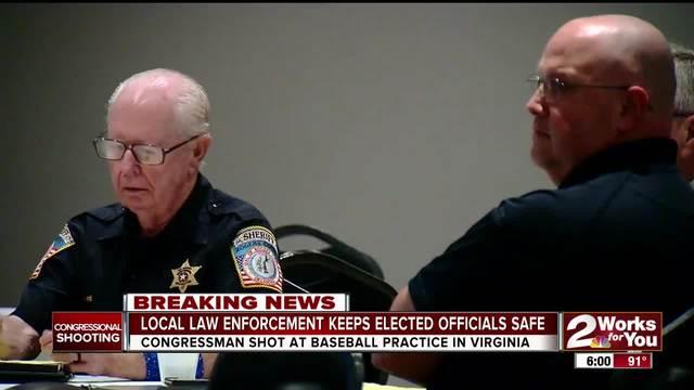 Local law enforcement keeps elected officials safe