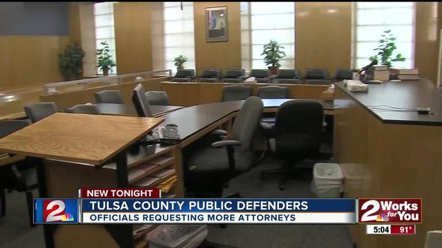 Officials requesting more attorneys