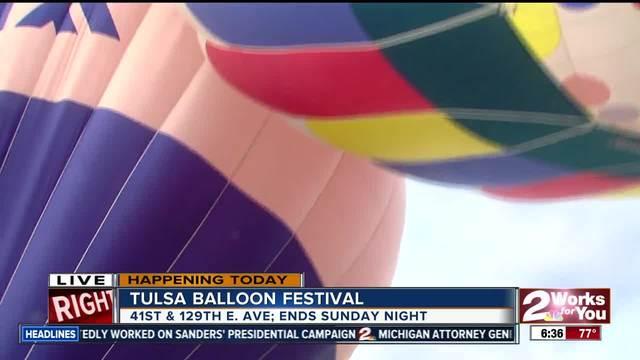 Tulsa Hot-Air Balloon Festival takes flight this weekend