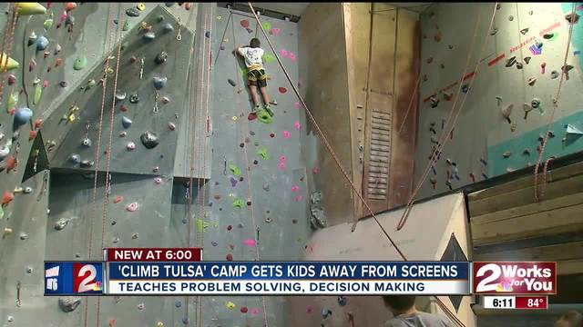 -Clim Tulsa- camp gets kids moving and thinking