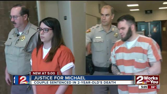 Couple sentenced in child-s death