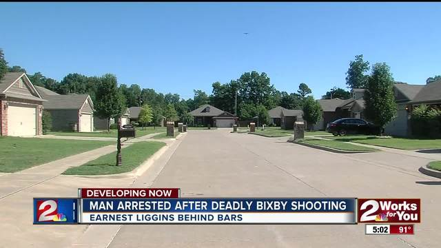 Man srrested after deadly shooting in Bixby