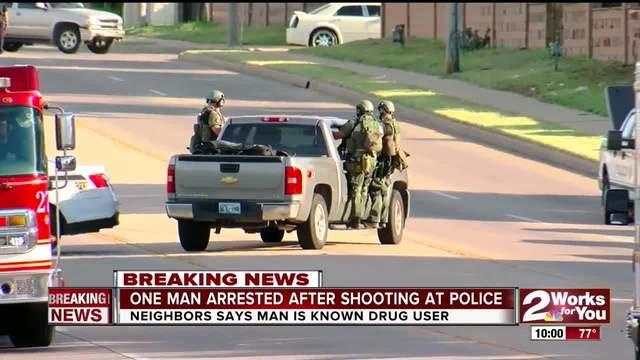 Tulsa Police targeted after East Tulsa shooting