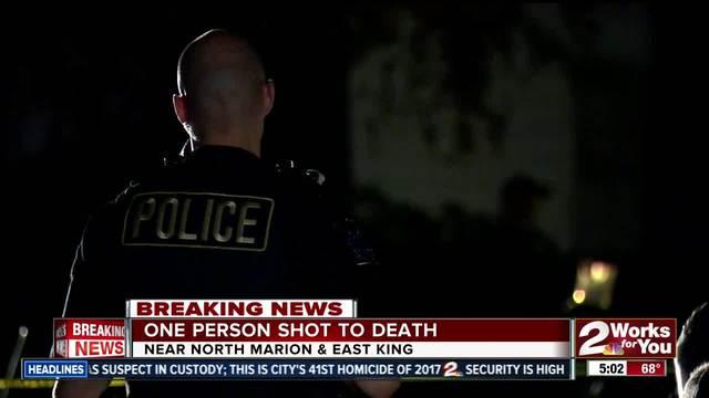 Tulsa Police investigate homicide near North Marion
