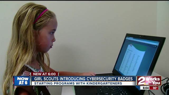 Girl Scouts introducing -Cybersecurity- badges