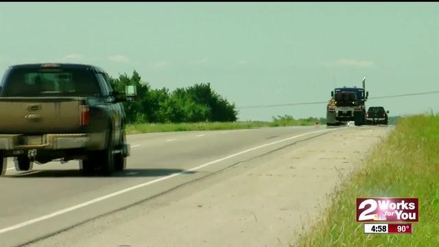 Manhunt underway near Chouteau
