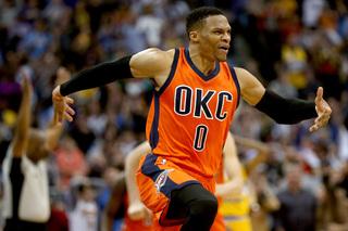 Russell Westbrook named 2016-17 NBA MVP