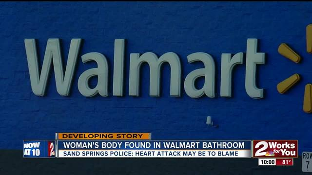 Body found in Walmart bathroom had been there for days