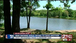 Man drowns while trying to save cousin at lake