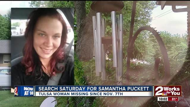 Search for Samantha Puckett continues