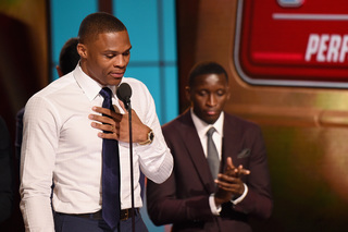 Jordan, Durant congratulate Westbrook on MVP