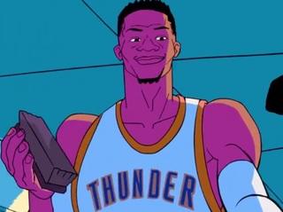 Commercials mark Russell Westbrook's MVP award