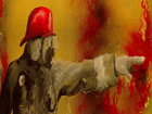 Claremore firefighter relaxes through painting
